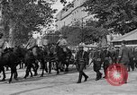 Image of WWI American soldiers at a funeral France, 1918, second 24 stock footage video 65675042397