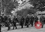 Image of WWI American soldiers at a funeral France, 1918, second 27 stock footage video 65675042397