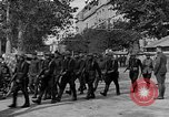 Image of WWI American soldiers at a funeral France, 1918, second 29 stock footage video 65675042397