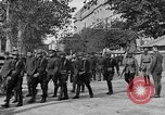 Image of WWI American soldiers at a funeral France, 1918, second 30 stock footage video 65675042397