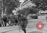 Image of WWI American soldiers at a funeral France, 1918, second 42 stock footage video 65675042397