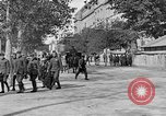 Image of WWI American soldiers at a funeral France, 1918, second 43 stock footage video 65675042397