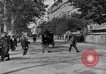 Image of WWI American soldiers at a funeral France, 1918, second 45 stock footage video 65675042397