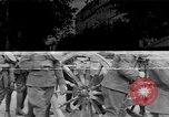Image of WWI American soldiers at a funeral France, 1918, second 47 stock footage video 65675042397