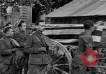 Image of WWI American soldiers at a funeral France, 1918, second 48 stock footage video 65675042397