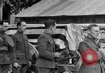 Image of WWI American soldiers at a funeral France, 1918, second 54 stock footage video 65675042397