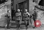 Image of WWI American soldiers at a funeral France, 1918, second 61 stock footage video 65675042397