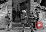 Image of WWI American soldiers at a funeral France, 1918, second 62 stock footage video 65675042397