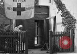 Image of Red Cross building France, 1918, second 41 stock footage video 65675042398