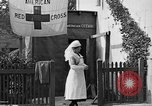 Image of Red Cross building France, 1918, second 44 stock footage video 65675042398