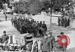 Image of WWI burial France, 1918, second 46 stock footage video 65675042400
