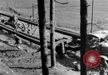 Image of U.S. soldiers build camp France, 1918, second 21 stock footage video 65675042414