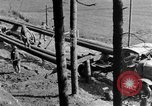 Image of U.S. soldiers build camp France, 1918, second 22 stock footage video 65675042414