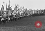 Image of Paul von Hindenburg Berlin Germany, 1918, second 42 stock footage video 65675042444