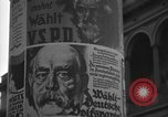 Image of elections Berlin Germany, 1924, second 20 stock footage video 65675042449