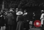 Image of Pacifists in London during World War I London England United Kingdom, 1918, second 33 stock footage video 65675042451
