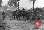 Image of American infantry and artillery European Theater, 1918, second 2 stock footage video 65675042457