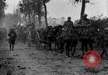 Image of American infantry and artillery European Theater, 1918, second 5 stock footage video 65675042457