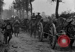 Image of American infantry and artillery European Theater, 1918, second 11 stock footage video 65675042457