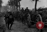 Image of American infantry and artillery European Theater, 1918, second 12 stock footage video 65675042457
