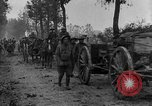 Image of American infantry and artillery European Theater, 1918, second 20 stock footage video 65675042457