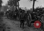 Image of American infantry and artillery European Theater, 1918, second 21 stock footage video 65675042457