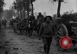 Image of American infantry and artillery European Theater, 1918, second 22 stock footage video 65675042457