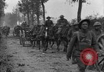Image of American infantry and artillery European Theater, 1918, second 23 stock footage video 65675042457