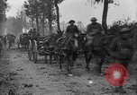 Image of American infantry and artillery European Theater, 1918, second 24 stock footage video 65675042457