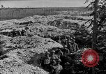 Image of American infantry and artillery European Theater, 1918, second 31 stock footage video 65675042457