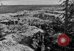 Image of American infantry and artillery European Theater, 1918, second 33 stock footage video 65675042457