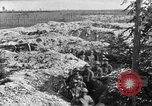 Image of American infantry and artillery European Theater, 1918, second 34 stock footage video 65675042457