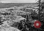 Image of American infantry and artillery European Theater, 1918, second 35 stock footage video 65675042457