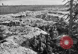 Image of American infantry and artillery European Theater, 1918, second 37 stock footage video 65675042457