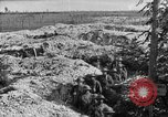 Image of American infantry and artillery European Theater, 1918, second 41 stock footage video 65675042457