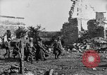 Image of American infantry and artillery European Theater, 1918, second 56 stock footage video 65675042457