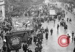 Image of Trade unionists protest high food prices during World War I London England United Kingdom, 1916, second 2 stock footage video 65675042461