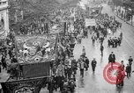 Image of Trade unionists protest high food prices during World War I London England United Kingdom, 1916, second 5 stock footage video 65675042461