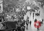 Image of Trade unionists protest high food prices during World War I London England United Kingdom, 1916, second 6 stock footage video 65675042461