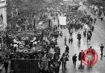 Image of Trade unionists protest high food prices during World War I London England United Kingdom, 1916, second 8 stock footage video 65675042461