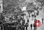Image of Trade unionists protest high food prices during World War I London England United Kingdom, 1916, second 9 stock footage video 65675042461