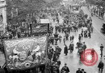 Image of Trade unionists protest high food prices during World War I London England United Kingdom, 1916, second 12 stock footage video 65675042461