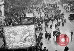 Image of Trade unionists protest high food prices during World War I London England United Kingdom, 1916, second 13 stock footage video 65675042461
