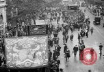 Image of Trade unionists protest high food prices during World War I London England United Kingdom, 1916, second 14 stock footage video 65675042461