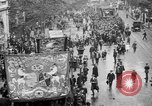 Image of Trade unionists protest high food prices during World War I London England United Kingdom, 1916, second 15 stock footage video 65675042461