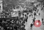 Image of Trade unionists protest high food prices during World War I London England United Kingdom, 1916, second 17 stock footage video 65675042461