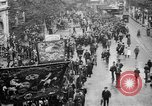 Image of Trade unionists protest high food prices during World War I London England United Kingdom, 1916, second 18 stock footage video 65675042461