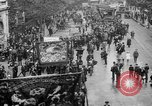 Image of Trade unionists protest high food prices during World War I London England United Kingdom, 1916, second 20 stock footage video 65675042461