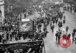 Image of Trade unionists protest high food prices during World War I London England United Kingdom, 1916, second 21 stock footage video 65675042461