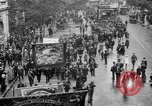 Image of Trade unionists protest high food prices during World War I London England United Kingdom, 1916, second 22 stock footage video 65675042461